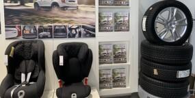 Аксессуары и колёса по специальным ценам
