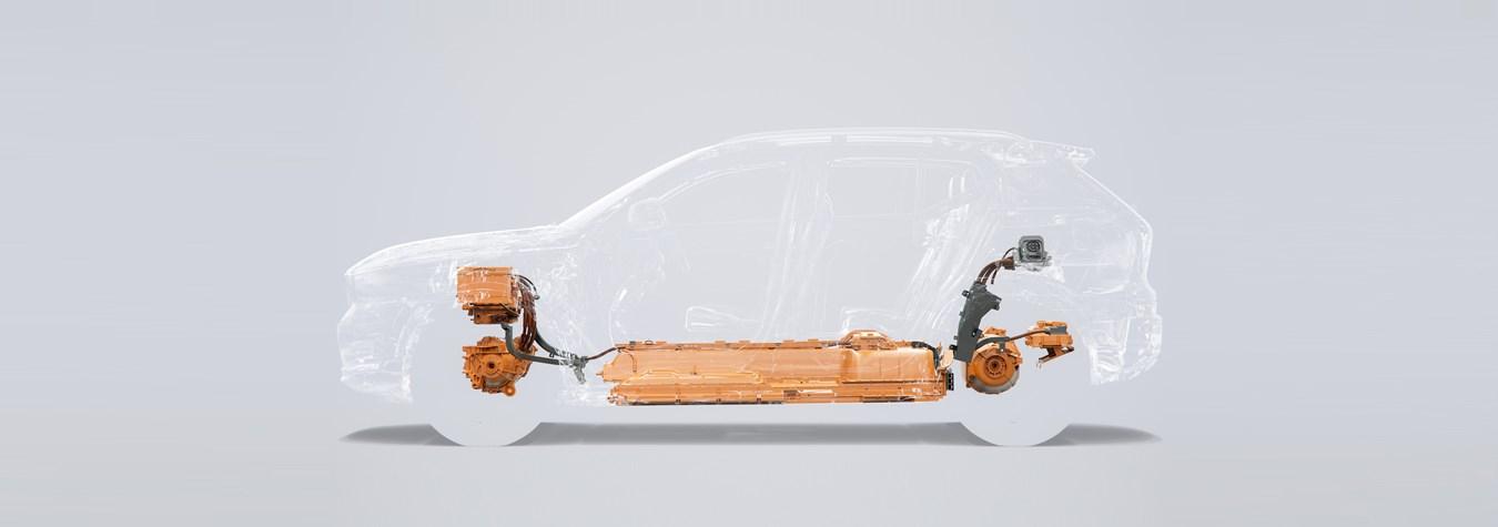 Электрический Volvo XC40